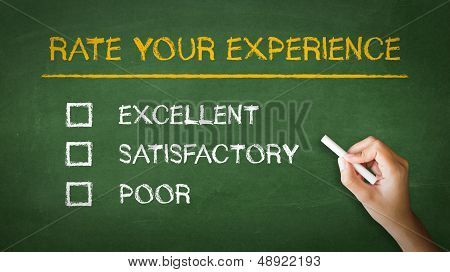 Rate Your Experience