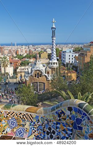 Park Guel In Barcelona