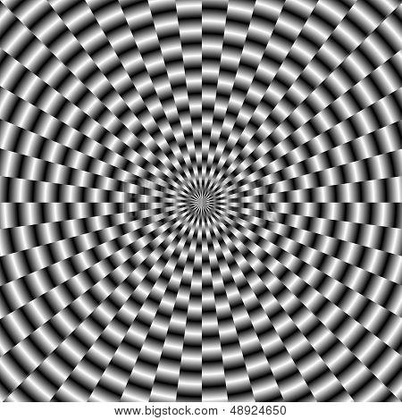 Circular Weave In Monochrome