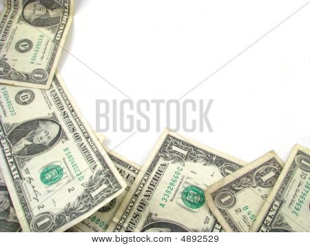 Dollar Bill Border