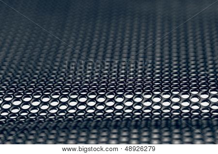 Abstract metal grill background