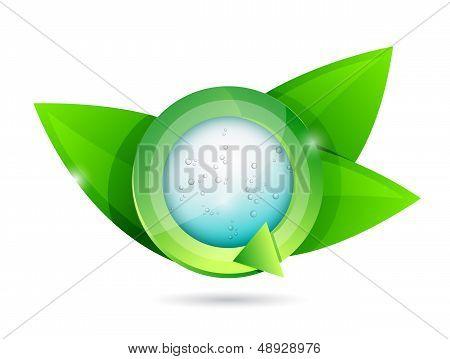 Natural Organic Concept Illustration Design