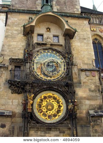 Famous  Medieval Astronomical Clock.
