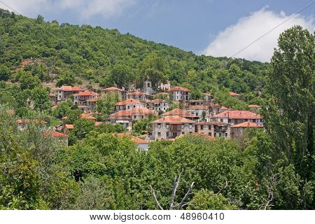 Greek Mountain Village