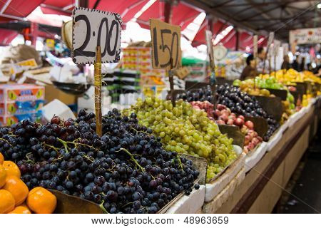 Fruit Stand At A Market