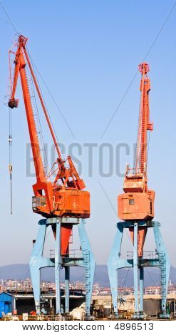 Two Cranes