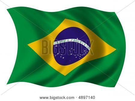 Federative Republic Of Brazil Flag