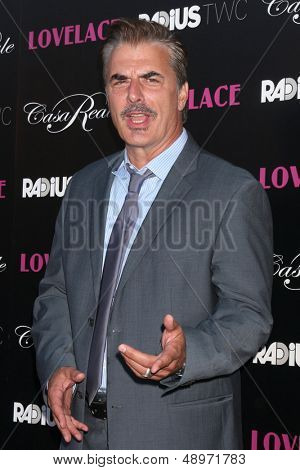 LOS ANGELES - AUG 5:  Chris Noth arrives at the