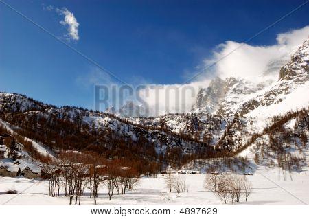 Snowy Windy Peaks