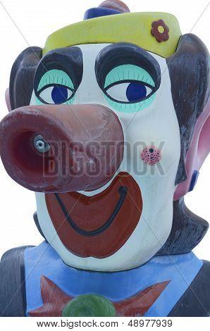 Water Spitter Clown Head