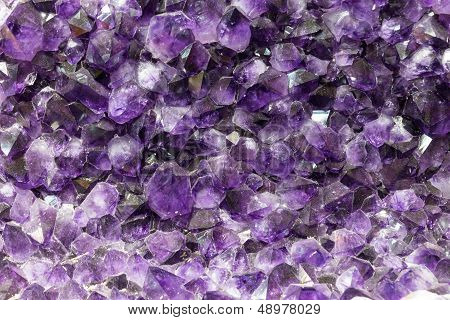 Amethyst background