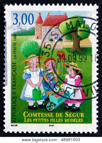 Postage Stamp France 1999 Countess Of Segur