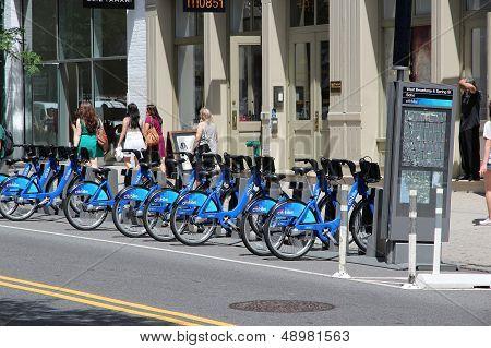 New York Bicycle Sharing