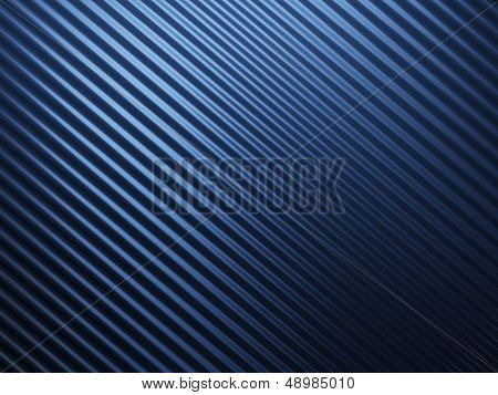 Blue Abstract Metal Background
