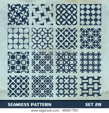 Seamless pattern. Vector collection.