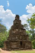 Ancient Pyramidal Buddhist Temple