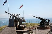 Guns At Fort Nothe