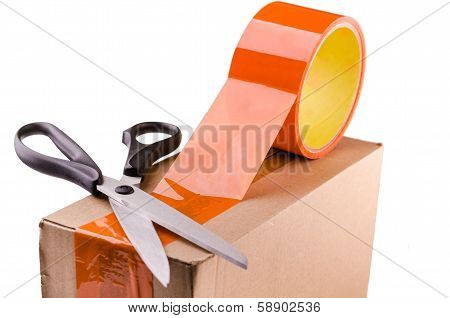 Tape And Scissors