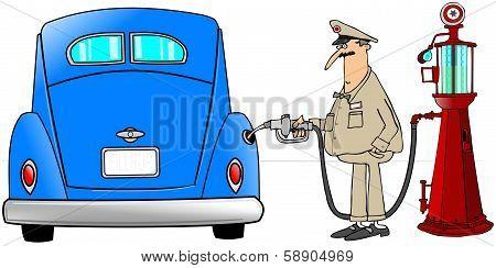 Gasoline fill-up