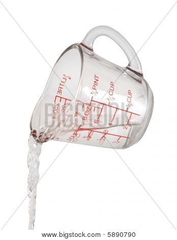 Water Pour Measuring Cup
