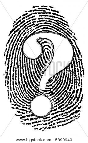 Whodunit Fingerprint
