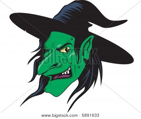 Wicked Witch Illustration