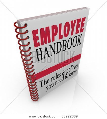 Employee Handbook Manual Rules Regulations Code of Worker Conduct