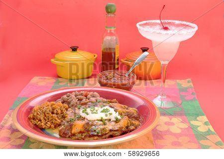 Enchiladas With Margarita