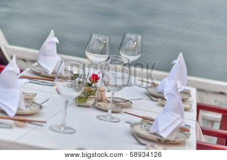 Meal on Halong bay (QuangNinh, Vietnam)