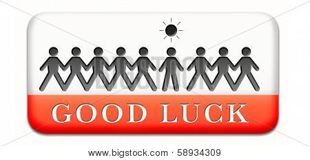 good luck, best wishes wish you luck paper man silhouette, good fortune joy and happiness optimism and think positive