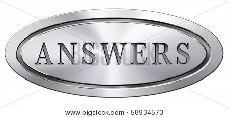 search answers solve problems answer button answer icon search answer and discover truth text and word concept