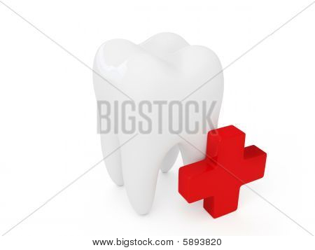 Tooth and small cross