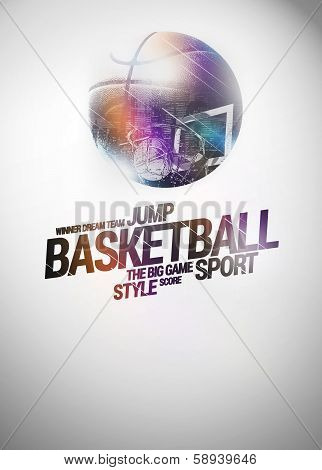 Baketball Background
