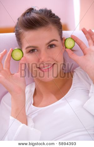 Cucumber Mask