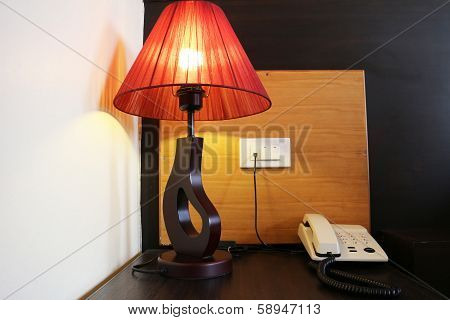 Lamp and Phone