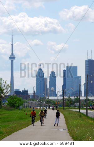 poster of Toronto City Skyline