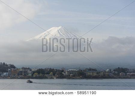panorama fuji Japan