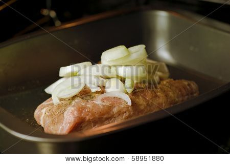 Pork In The Oven