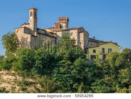 Barolo near Asti in Piedmont,Italy