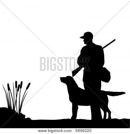 Hunter And Dog