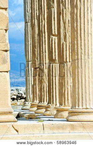 Erechtheion Temple Acropolis In Athens