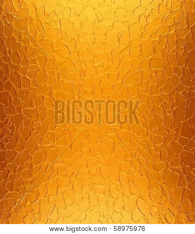 Orange metal plate texture
