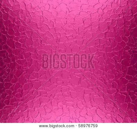 Hot Pink Stainless Steel Metal Texture Background