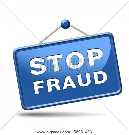 stop fraud bride and political or police corruption money corrupt cyber or internet crime