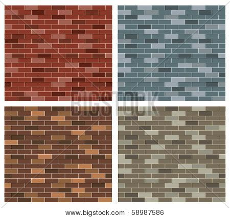 Simple Brick Background Collection