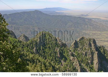 New Mexico Sandia Mountains View
