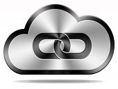 cloud computing linking data and information exchange in database and communication technology servi