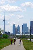 Toronto City Skyline poster