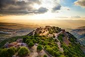 pic of golan-heights  - Fortress Nimrod in Israel - JPG