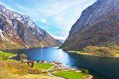 image of fjord  - Naeroyfjord  - JPG